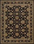 Nourison Living Treasures LI05 BLK Black Area Rug