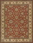 Nourison Living Treasures LI05 RUS Rust Area Rug