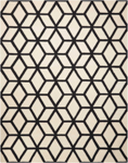 Nourison Linear LIN01 IVORY/BLACK Closeout Area Rug