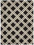 Nourison Linear LIN04 BLACK/WHIT Closeout Area Rug
