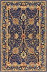 Surya Bob Mackie London LON-1001 Royal Blue/Gold Closeout Area Rug - Fall 2009