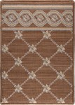 LP03 Flower Trellis Brown - Nourison Luxe Pointe Collection - Nourison offers an extraordinary selection of premium broadloom, roll runners, and custom rugs.