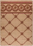 LP03 Flower Trellis Camel Red - Nourison Luxe Pointe Collection - Nourison offers an extraordinary selection of premium broadloom, roll runners, and custom rugs.
