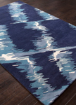 Jaipur En Casa Tufted LST04 Raven Patriot Blue & Moonlight Blue Area Rug