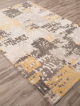Jaipur En Casa Tufted LST63 Peabody Light Gray & Simply Taupe Area Rug