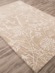 Jaipur En Casa Tufted LST67 Tabor Oxford Tan & Egret Area Rug