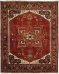 Kalaty Lateef LT-842 Rust/Rust Closeout Area Rug