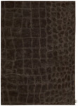 Calvin Klein Home Canyon LV01 PEAT Peat Closeout Area Rug