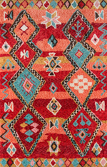 Momeni Margaux MGX-01 Red Area Rug