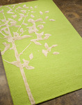 Jaipur Midtown Artemiss MD01 Knock Wood Lime Punch/Lime Punch Closeout Area Rug