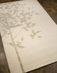 Jaipur Midtown Artemiss MD02 Knock Wood White Sand & Lily White Closeout Area Rug