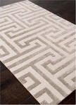 Jaipur Midtown Artemis MD28 Meandering Maze White/Ashwood Closeout Area Rug