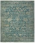 Designer Series 17005 CeCe Magnolia Wool Blue Rug