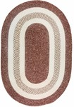 Colonial Mills Jefferson & Monroe M096 Deep Wine Closeout Area Rug