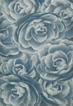 Nourison Moda MOD06 BLSEA Blue Sea Closeout Area Rug