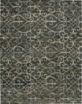 Nourison Tahoe Modern MTA05 CHA Charcoal Closeout Area Rug