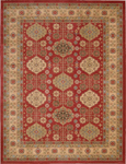 Nourison Maymana MYN08 RED Red Area Rug