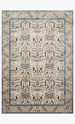 Rifle Paper Co. × Loloi Nairi NAI-03 RP NATURAL / BEIGE Closeout Area Rug