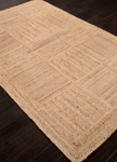 Jaipur Naturals Tobago NAT06 Aaron Bleached Sand & Croissant Area Rug