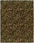 Allara New Delhi DE-1001 Chateau Brown Closeout Area Rug