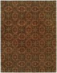 Allara New Delhi DE-1003 Chateau Rust Closeout Area Rug