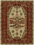 Allara New Delhi DE-1006 Kingscote Sand/Red Closeout Area Rug