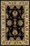Radici USA Noble 1330 Black Area Rug