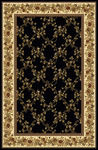 Radici USA Noble 1427 Black Area Rug