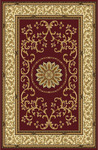 Radici USA Noble 1419 Burgundy Area Rug