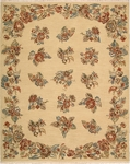 Nourison Nourmak Encore NOE09 LGD Light Gold Closeout Area Rug - Spring 2016