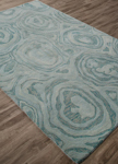 Jaipur National Geographic Home Tufted Premium NTP01 Gabbro Blue Haze & Mineral Blue Closeout Area Rug