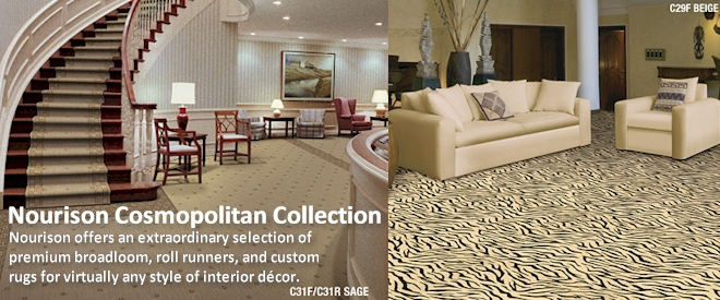 Nourison Cosmopolitan Collection - Broadloom Carpet