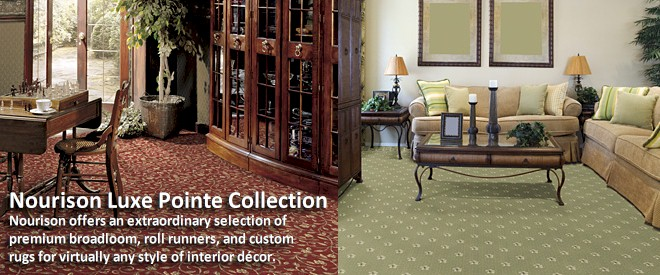 Nourison Luxe Pointe Collection - Broadloom Carpet