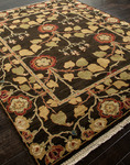 Designer Series DS040024 Poppy Leaves Rug
