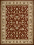 Nourison Persian Crown PC001 BRICK Brick Closeout Area Rug