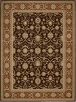 Nourison Persian Crown PC001 DKBRN Dark Brown Closeout Area Rug