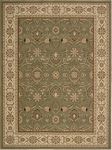 Nourison Persian Crown PC001 GREEN Green Closeout Area Rug