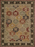 Nourison Persian Crown PC004 BLACK Black Closeout Area Rug