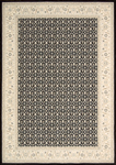 Nourison Persian Empire PE26 BLK Black Area Rug