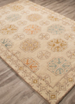Jaipur Pendant PEN06 Griffin White Swan & Gold Earth Area Rug