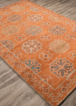Jaipur Pendant PEN07 Griffin Apricot Orange & Smoke Blue Area Rug
