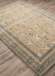 Jaipur Pendant PEN11 Oakland Oyster White & Abyss Closeout Area Rug