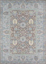 Momeni Petra PE-04 Dark Grey Closeout Area Rug