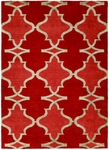 Allara Portent OR-1000 Red Hot Area Rug