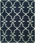 Allara Portent OR-1002 Azure Blue Area Rug