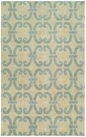 Allara Portent OR-1005 Cloud Blue Area Rug