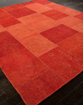 Jaipur Provenance - Sumak PK03 Fiery Red/Fiery Red Closeout Area Rug - Fall 2013