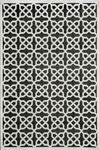 Momeni Platinum PN-04 Black Closeout Area Rug
