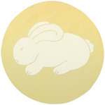 Surya Playground PLY-6001 Butter/White Bunny Closeout Area Rug - Spring 2011