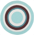 Surya Playground PLY-6031 Light Blue/White Closeout Area Rug - Fall 2012